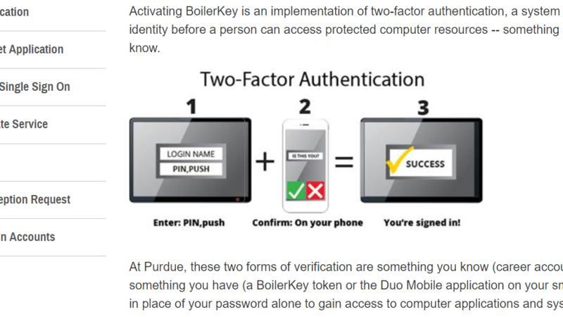 Petition · Get rid of Boilerkey 2 factor authentication