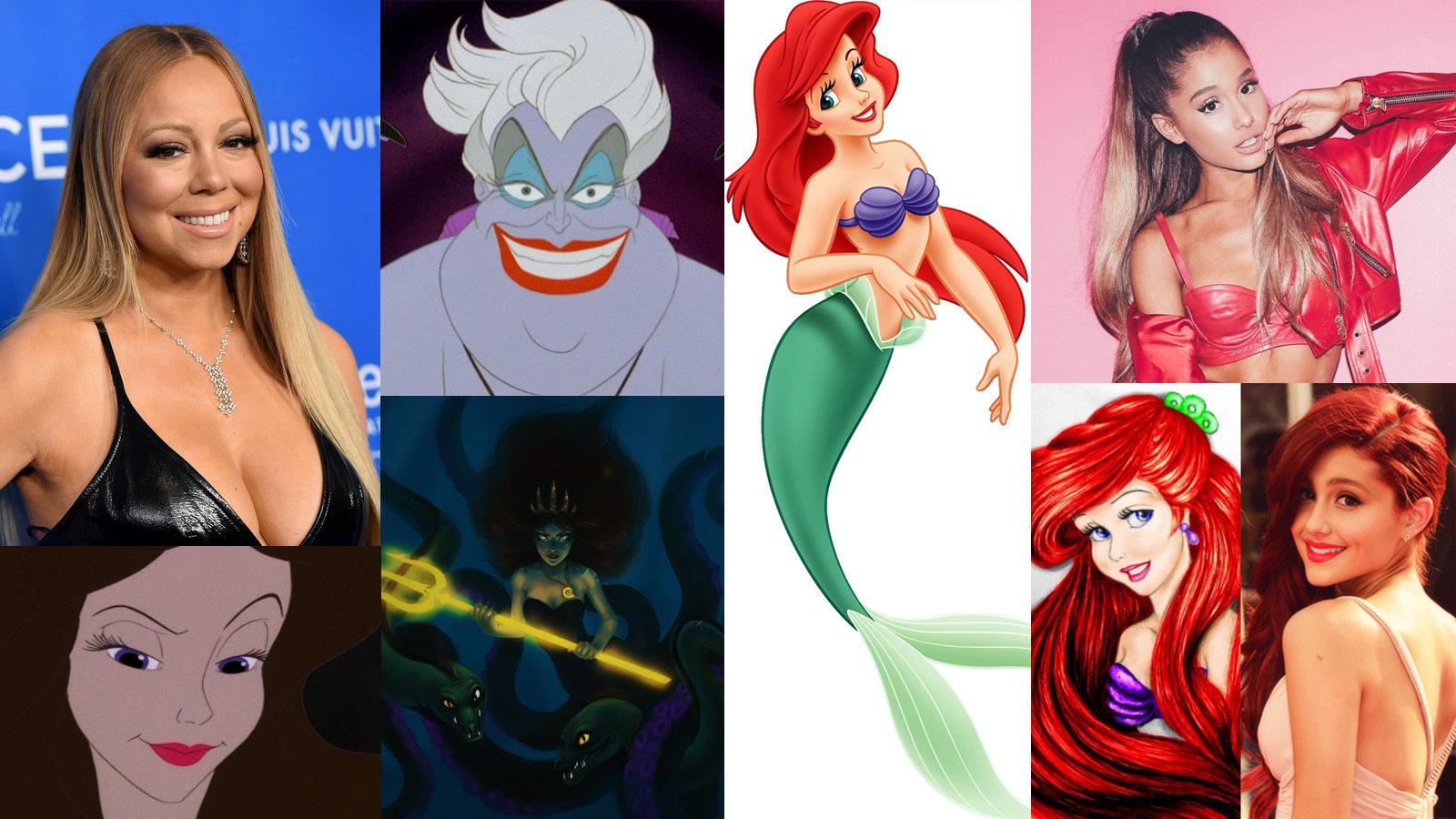 little mermaid cast - HD1600×900