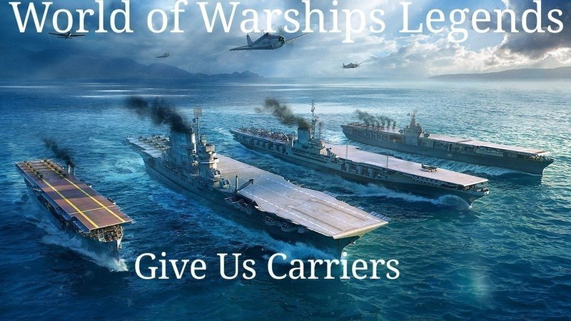Petition Wargaming Bring Carriers To World Of Warships Legends Change Org