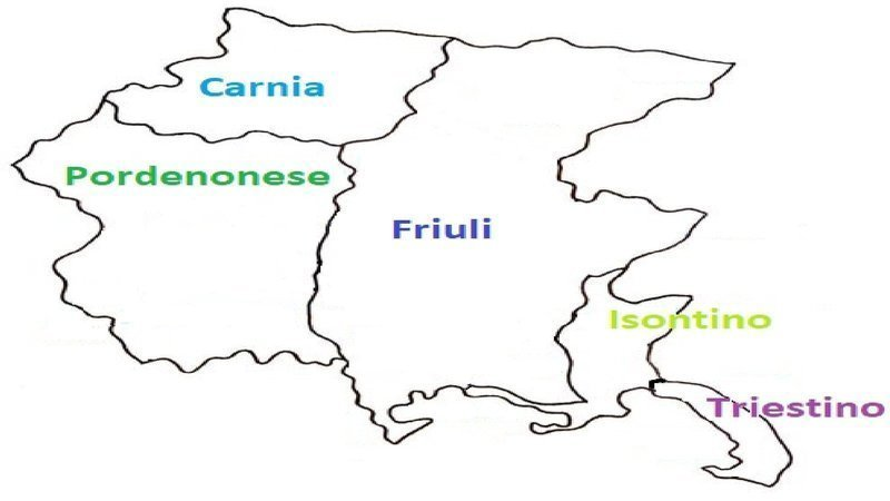 Cartina Friuli Venezia Giulia Province.Petizione 5 Province Per Unire Il Friuli Venezia Giulia Change Org