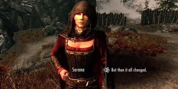 Skyrim Marriable Serana