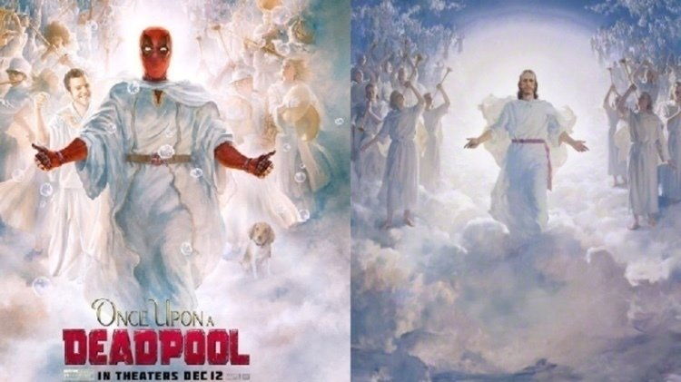 Petition Change The Deadpool Poster To Not Mock The Church Of