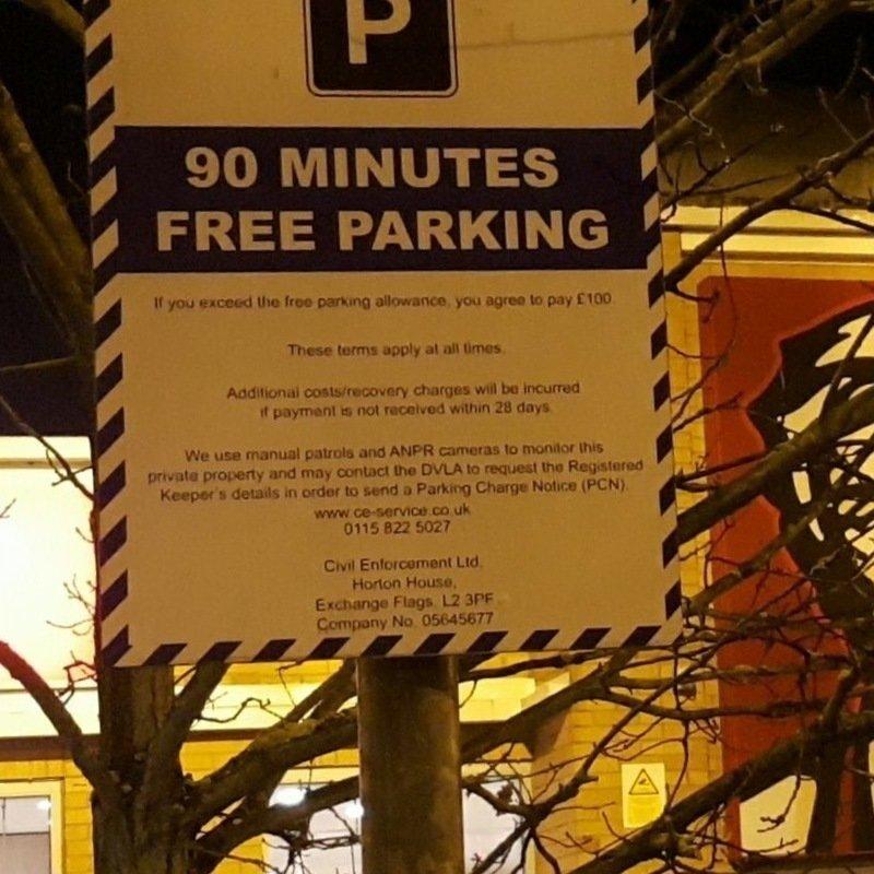 Petition · Civil enforcement : Increase parking limit at KFC