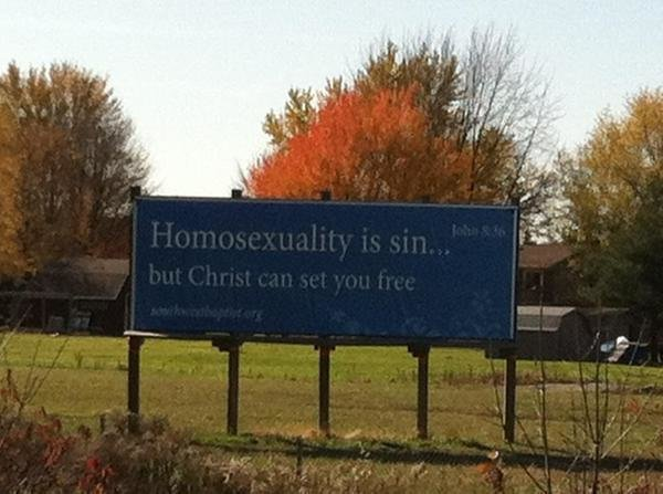 Homosexual sex is not a sin