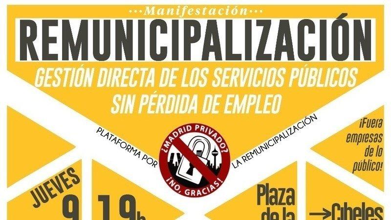 Resultado de imagen de municipalización de los servicios publicos
