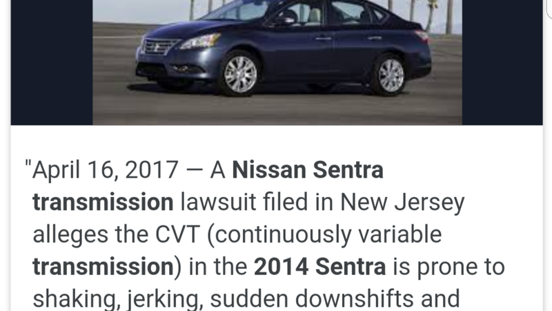 Petition · NISSAN CVT TRANSMISSION IS A DEATH TRAP · Change org