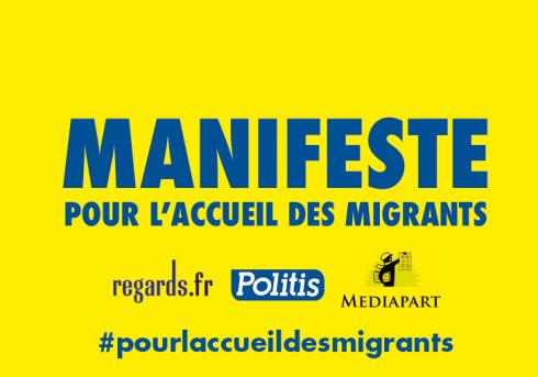 """Plus de 20000 signataires en 48 h pour """"le manifeste pour l'accueil des migrants""""  DRKlLbgusnjFKCn-800x450-noPad"""