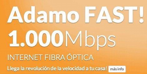 Resultado de imagen de ADAMO FIBRA TELECOM