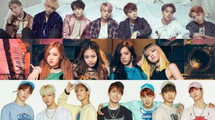 Petition · Weekly idol: Get black pink, BTS and GOT7 all