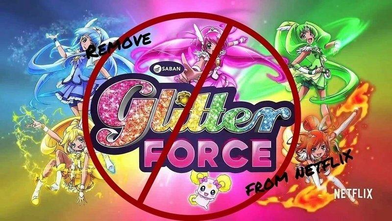 Petition Take Glitter Force Off Netflix Change Org