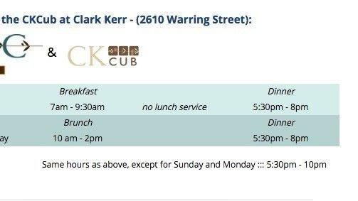 Petition Uc Berkeley Cal Dining Increase Clark Kerr Hours Change Org