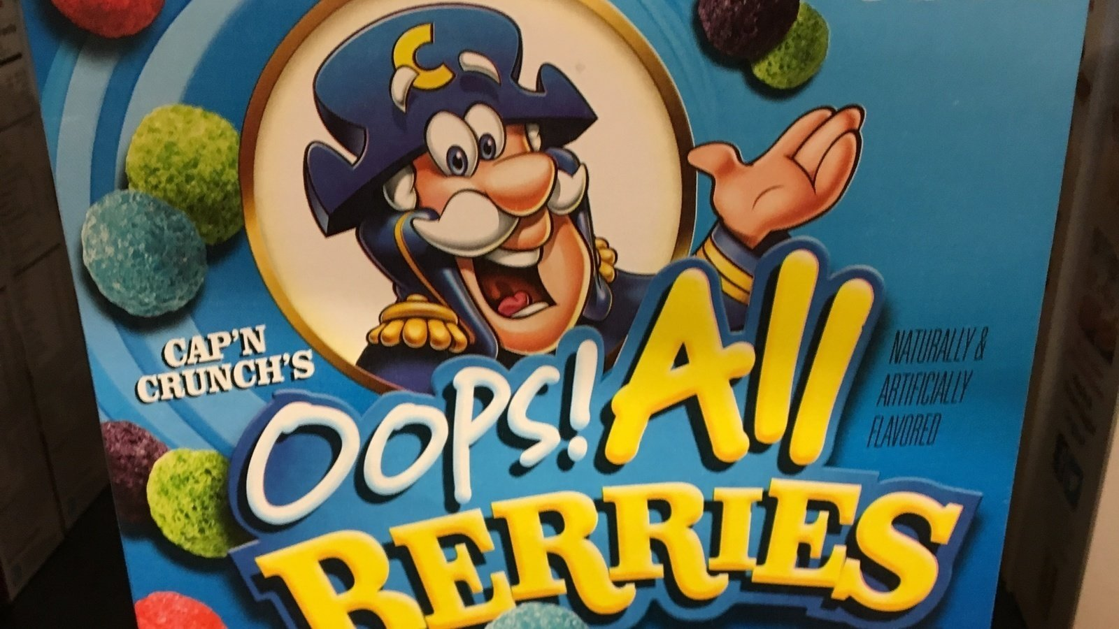 Petition Quaker Oats Convince Cap N Crunch That It S Time To Drop The Oops From Oops All Berries Change Org Subscribe now and we'll make sure you get the inside scoop on ben & jerry's fun and flavors! petition quaker oats convince cap n