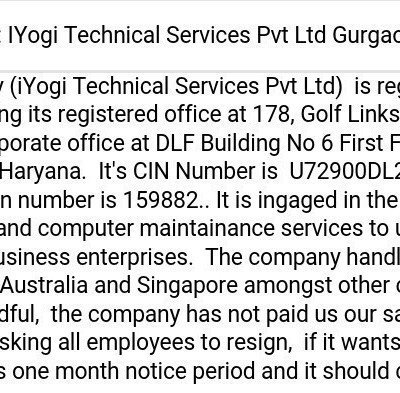 Iyogi contact number in gurgaon