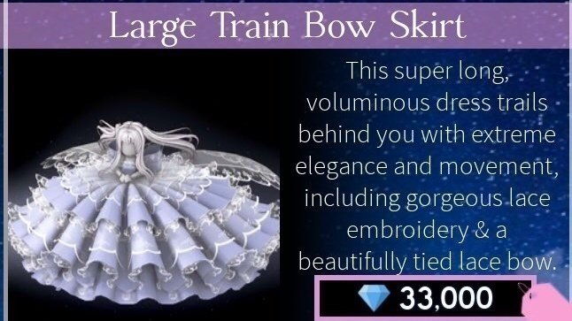 Petition Large Train Bow Skirt Change Org