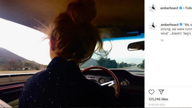 Petition update · Amber Heard back on Instagram · Change.org