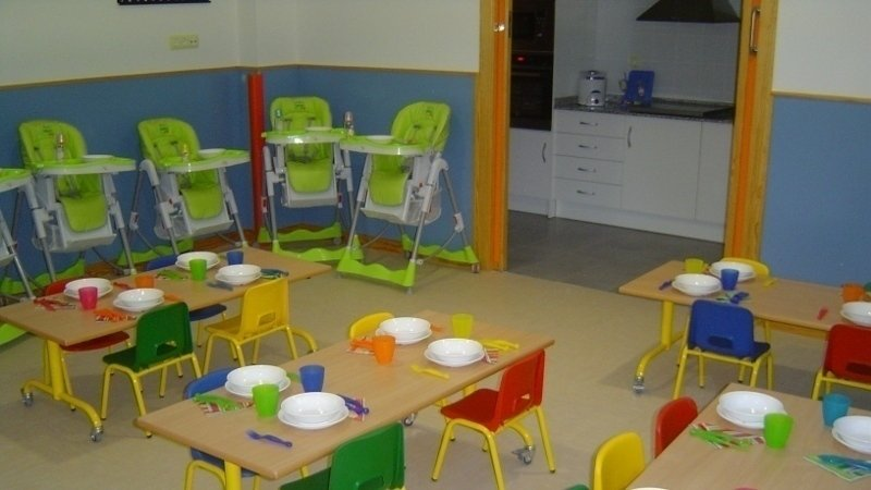 Petici n por un comedor en la escuela infantil de for Comedor de escuela