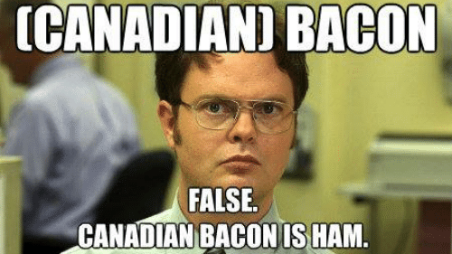 Petition Canadian Bacon Is A Made Up Phrase Demand Egg