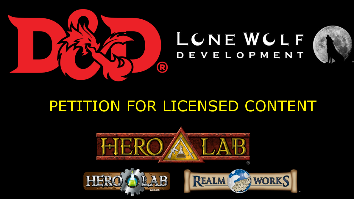 Petition · WOTC - Please license Hero Lab to sell official