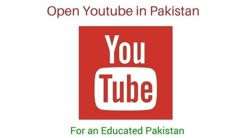 Petition · Open Youtube in Pakistan · Change org