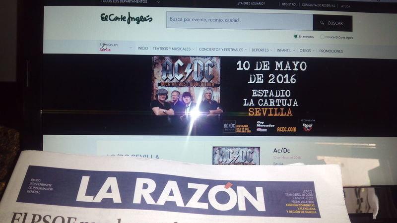 Petition live nation espa a la devoluci n del dinero for Oficina consumidor valencia