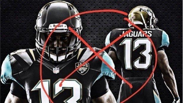 Jacksonville Jaguars Uniform Change