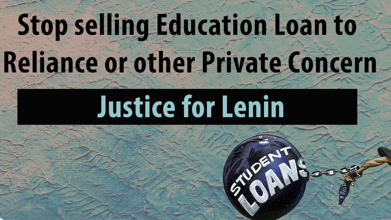 Petition · Stop selling Education Loan to Reliance or Any