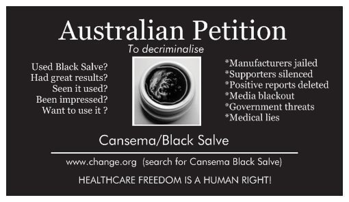 Petition · Australian Government: Decriminalise the use of
