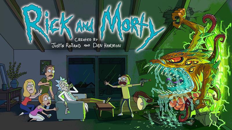 4th season of RICK AND MORTY on Cartoon Network & Adult Swim