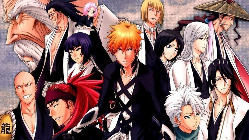 Image result for bleach 2017