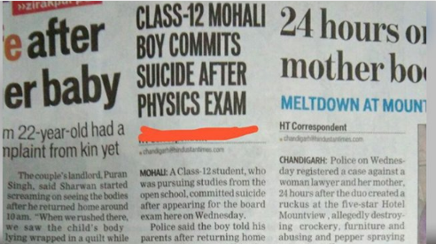 Petition update · Class 12 Boy From Mohali Commited Suicide