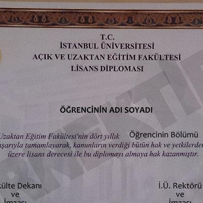 Kampanya Auzef Iü Auzef Diplomasında Auzef Ibaresi Yer Almasın