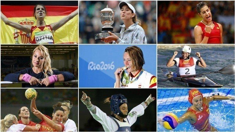 Resultado de imagen de mujeres deportistas