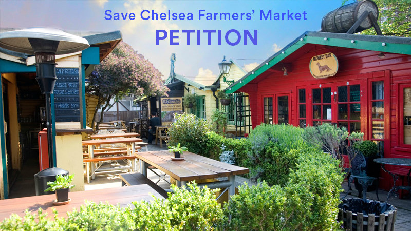 Chelsea Farmers petition save the chelsea farmers market from demolition change org