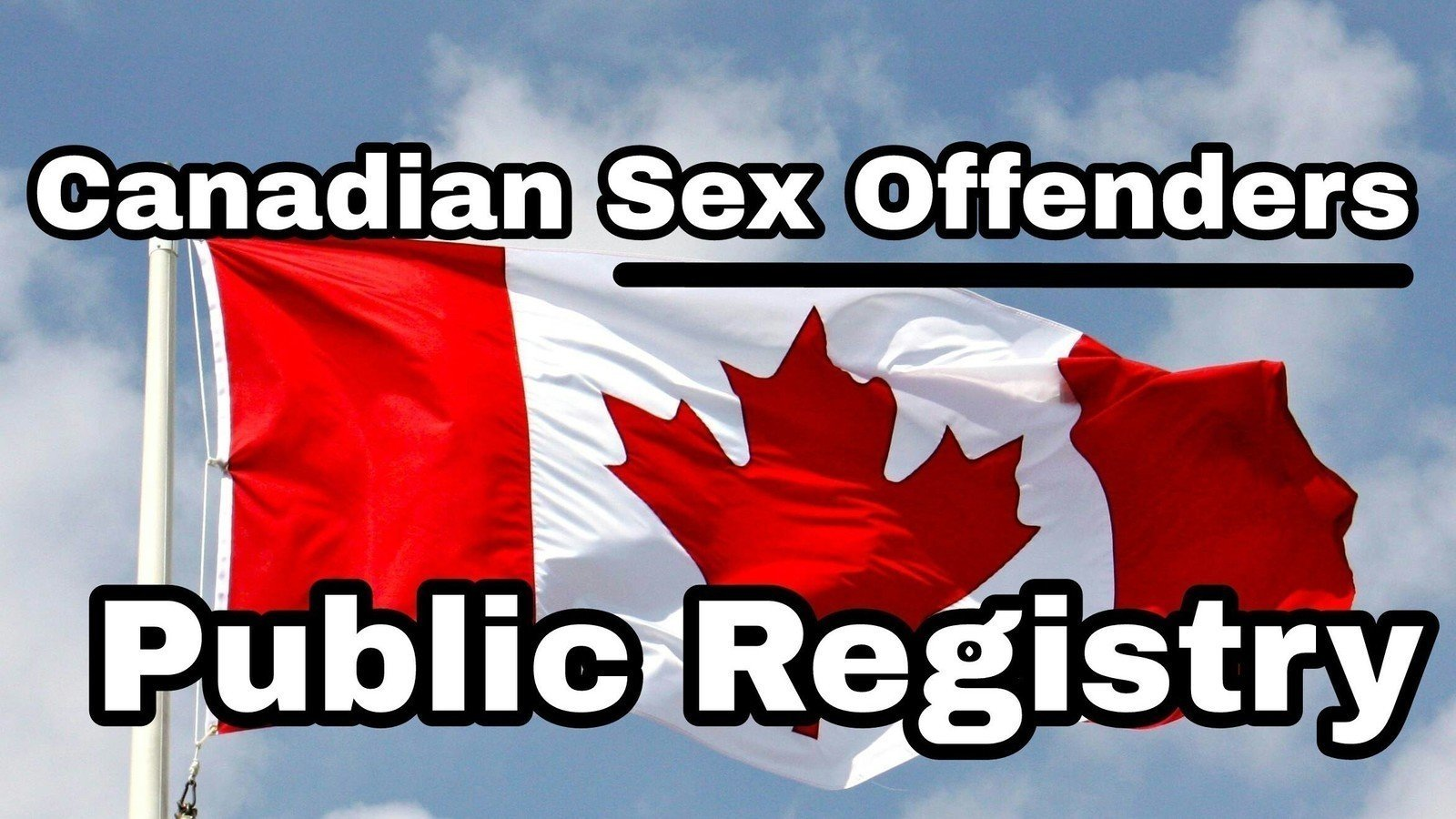 find sex offenders in canada