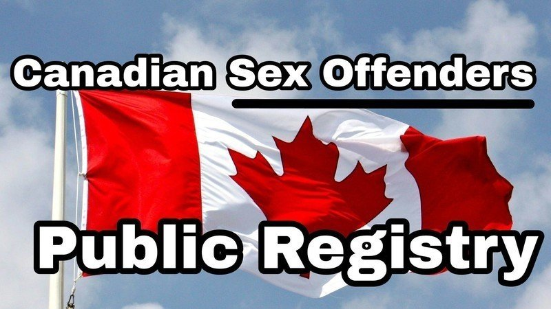 Sex offenders registry in canada