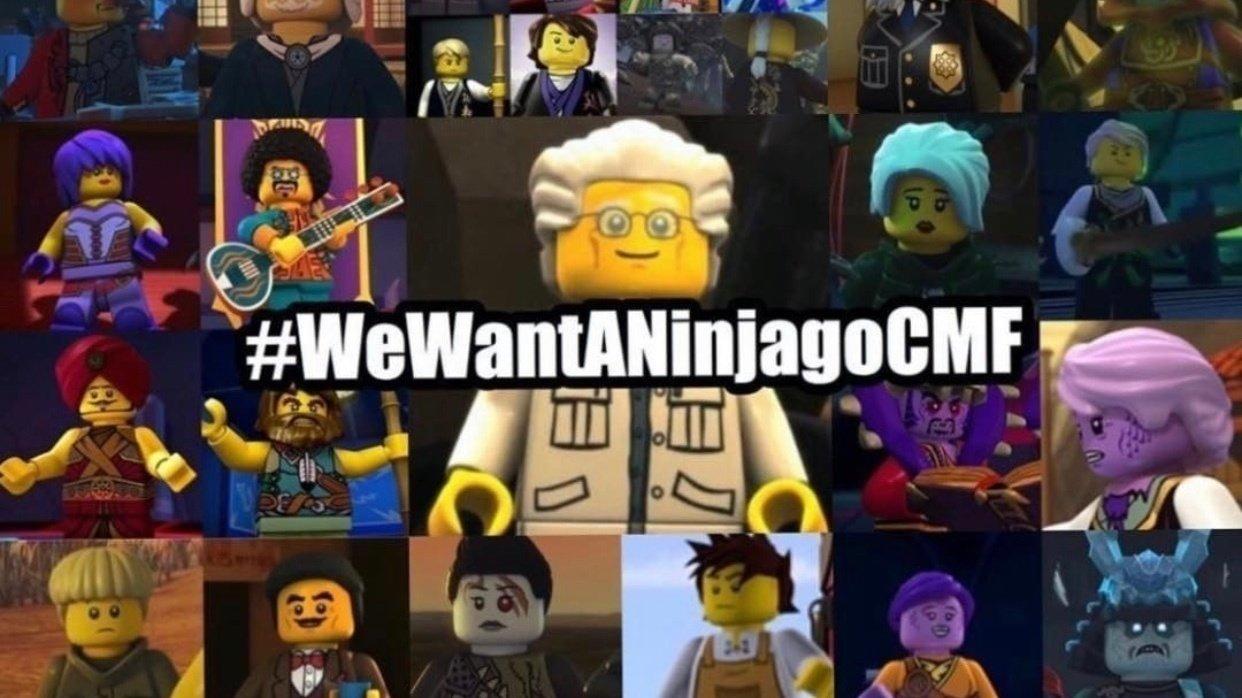 Petition · We want a Ninjago CMF · Change.org