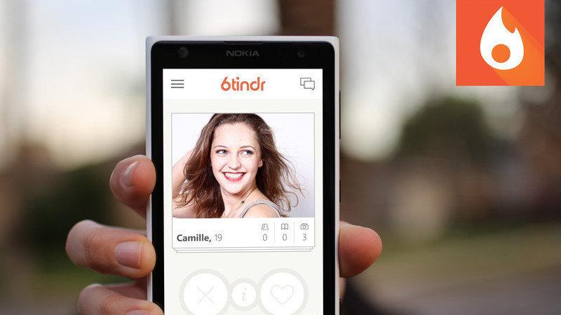 Tinder app for windows phone