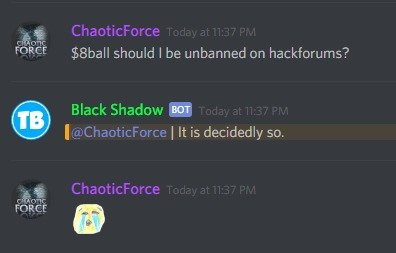 Petition · Reopen ChaoticForce on hackforums · Change org