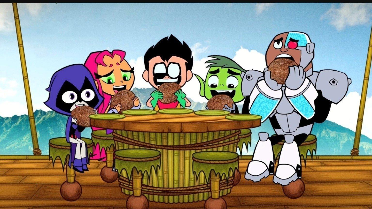 Teen Titans - Teen Titans Wiki - Robin, Starfire, Raven