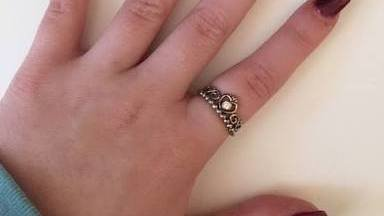 girls pandora ring