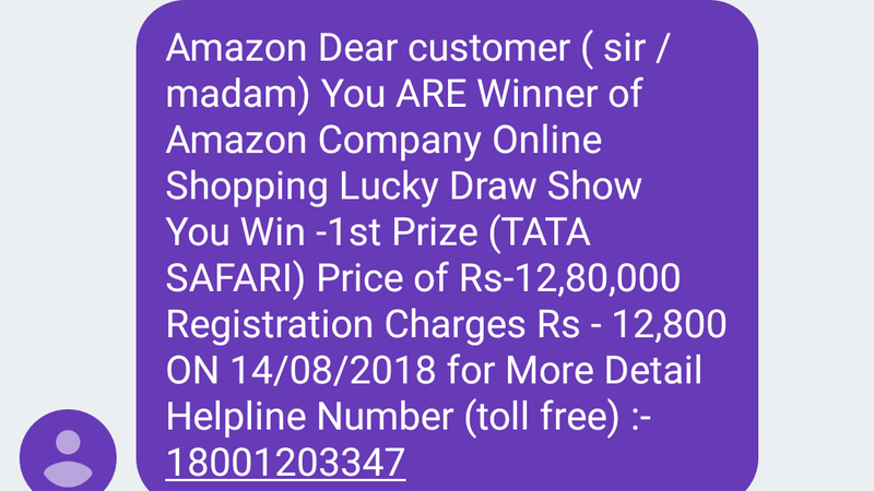 Petition · Gangs operating Fake Lucky Draw Call & SMS on the Online