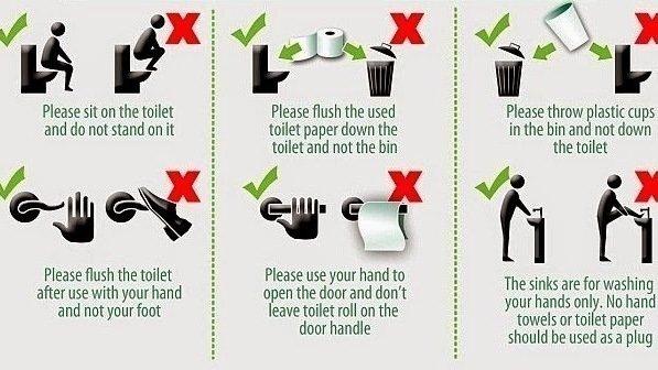 Peion Students Qcshs Improving Bathroom Etiquette To Keep