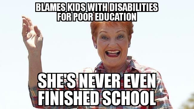 Petition · Pauline hanson aplogise to the kids and people with ...