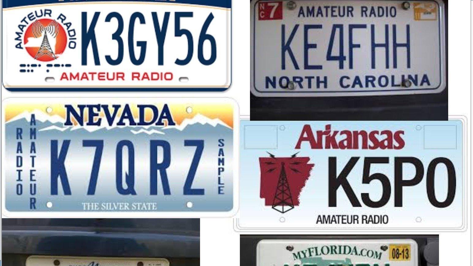 Customized License Plates >> Petition · California Amateur Radio License Plates · Change.org