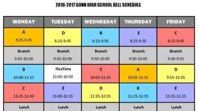 fresno high school bell schedule