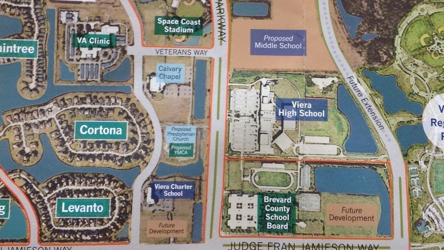 Petition  Build Viera A Middle School  Changeorg - Florida map viera