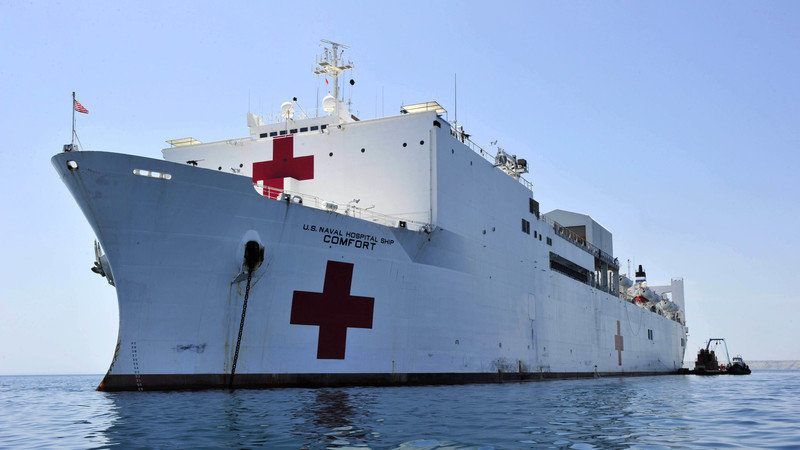 Petition defense secretary james mattis send navy hospital ship send navy hospital ship usns comfort to puerto rico to aid our fellow americans stopboris Image collections