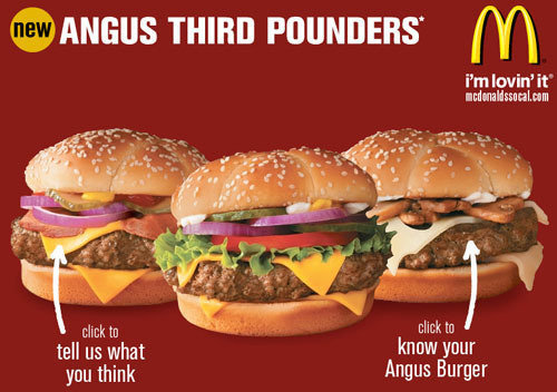 petition · mcdonald's: bring back angus burgers (at least