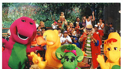 Petition update  Barney Baby Bop and BJ are very nice https