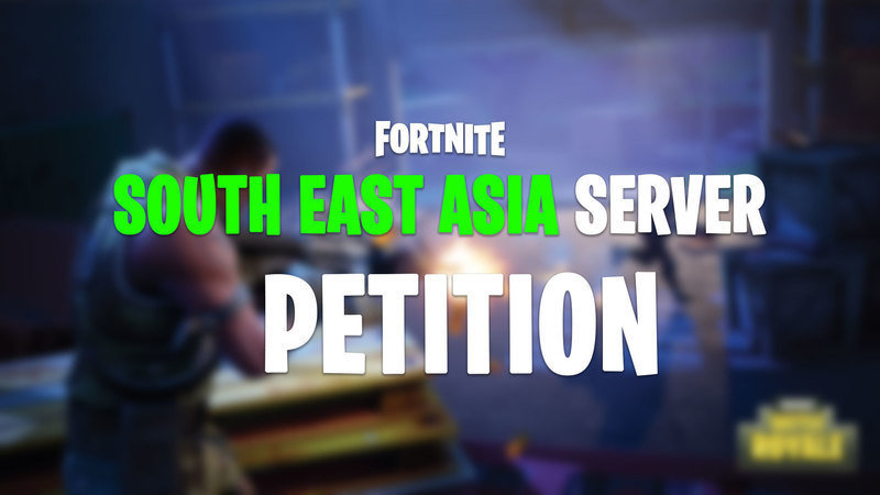 south east asia sea servers for fortnite by epic games - high ping on fortnite only
